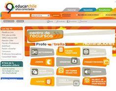 Recursos en el Portal de Educación de Chile