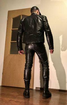 "masterthomasuk: ""A really hot leather look. """