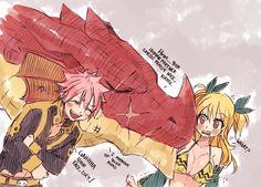 Future father-in law NaLu!!!!!!!!!! ||NaLu|| part 1