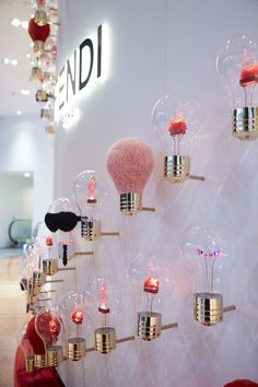 The Fendi Idea capsule collection lightens up a new pop-up store at Galeries Lafayette, Paris