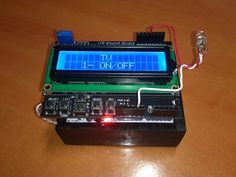 Picture of Arduino All-In-One Remote ---- HEY HEY!!! For more COOL ARDUINO stuff, check out http://arduinohq.com