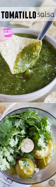A must-have in your refrigerator - this tomatillo salsa recipe is so easy and flavorful that you'll wonder why you haven't always been making it!