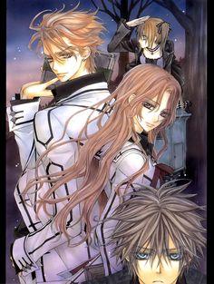 Rima, Kain, Ruka and Shiki, Vampire Knight