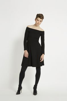 Looking for a black dress for Christmas? check it out on our website www.ingar.nl