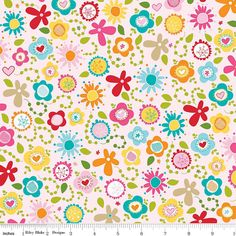 Modern Designer Fabric  Pink Main  Riley by SouthernStichesShop, $4.95.  On sale now - Modern designer fabric for baby, nursery, quilt, craft or clothing.  Available by the yard, half yard or fat quarter.  Free Shipping over $50.