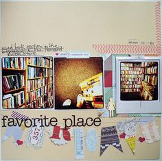 Favorite Place *Cocoa Daisy Sept kit* - Scrapbook.com