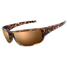 Tifosi Bronx Brown Polarized Lens Sunglasses - Tortoise [1260501050]