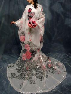 [色打掛] 4603 | YUMI KATSURA OFFICIAL WEBSITE|ユミカツラ公式サイト|ブライダル ウエディングドレス