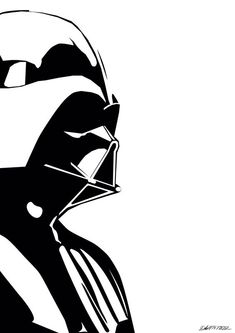Darth Vader Minimalistic Poster - Star Wars Poster - Ideas of Star Wars Poster - - Darth Vader Minimalistic Poster Star Wars Silhouette, Silhouette Art, Star Wars Stencil, Stencil Art, Star Wars Art, Darth Vader Tattoo, Darth Vader Stencil, Darth Vader Vector, Airbrush Art