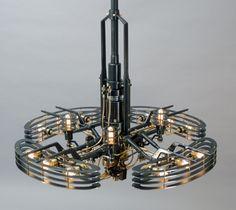 Pendant Light by Frank Buchwald