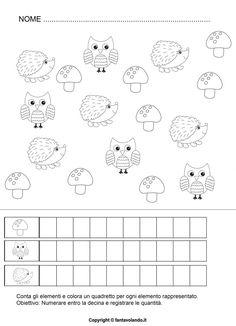 Autism Activities, Activities For Kids, Primary School, Pre School, Fall Crafts, Pixel Art, Montessori, Worksheets, Coloring Pages