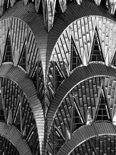 Chrysler Building, New York City, William Van Alen, 1930 Chrysler Building, City Architecture, Architecture Details, Amazing Architecture, White Building, Modern City, Art Deco Design, Beautiful Buildings, Close Up