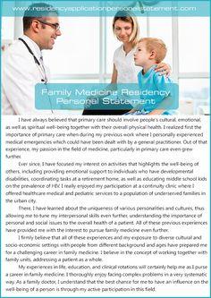 Medical school personal statement editing
