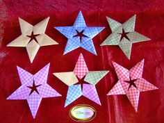 Origami Maniacs: 5 Pointed Stars by Trang Hung