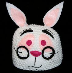 White rabbit beanie