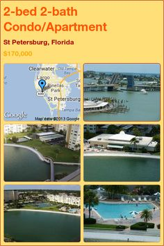 2-bed 2-bath Condo/Apartment in St Petersburg, Florida ►$170,000 #PropertyForSale #RealEstate #Florida http://florida-magic.com/properties/6870-condo-apartment-for-sale-in-st-petersburg-florida-with-2-bedroom-2-bathroom