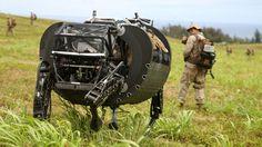 米軍の四脚ロボLS3、海兵隊とRIMPAC演習に参加。Google傘下のBoston Dynamics開発 - Engadget Japanese