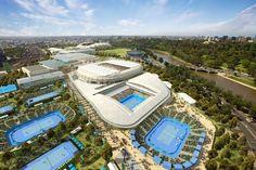 Gotta see the Rod Laver Arena while I'm in Melbourne!
