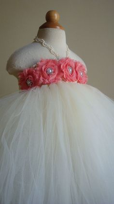 tutu dress with coral top! Too cute for falynn
