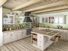 cz - Patina promění obyčejnou komodu v zajímavý originál Provence, Vintage Kitchen, Home Kitchens, Kitchen Cabinets, The Originals, Table, Furniture, Design, Home Decor