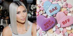 "Kim Kardashian Is Sending Kimoji Heart Perfume Valentines to Taylor Swift and Her ""Haters"""