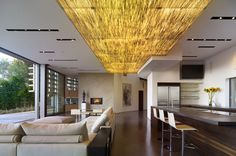 Great room - Ceiling Detail, by Griffin Enright