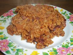Carribean Red Beans and Rice Recipe - gluten free, vegan