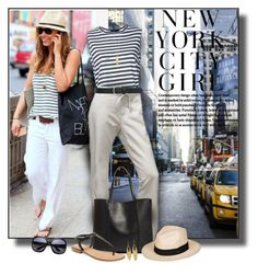 """""""New York City Girl"""" by diva1023 ❤ liked on Polyvore featuring Bassike, H&M, The North Face, Phase 3, Roxy, Isabel Marant, Seychelles, M&Co and Kenneth Jay Lane"""