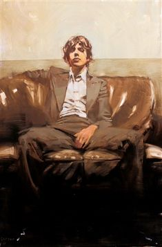 Michael Carson - Contemporary Artist - Figurative Painting - Before The Music