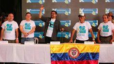 El exgrupo insurgente inicia formalmente su vida en la política, tras 7 votos a favor y dos en contra.   Foto: EFE