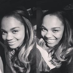 Close up Pic of China Anne McClain in Black and White China Anne Mcclain, Role Models, My Girl, Polaroid Film, Black And White, Celebrities, Collection, Instagram, Design