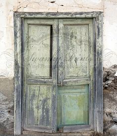 NEW ITEM 6ft x 7ft Grungy Old Door / Vinyl Photography Backdrop / Custom on Etsy, $86.99