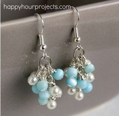 Grapevine Cluster Earrings By: Adrianne from Happy Hour Projects