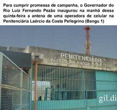 Antena celular -  PROMESSA DE CAMPANHA