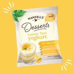 Hansells Dessert Lemon Tart has a distinctive sweet zestiness that makes it a favourite among many! 🍋 🍋 🍋 Good Sources Of Calcium, Snack Recipes, Snacks, Lemon Desserts, Tart, Benefit, Chips, Sweet, How To Make