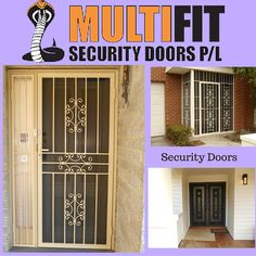 can be customised to suit any commercial and domestic application, visit or call us now. Security Doors, Melbourne, Garage Doors, Commercial, Suit, Windows, Outdoor Decor, Design, Home Decor