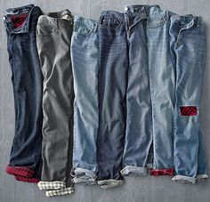 Women's Boyfriend Flannel-Lined Jeans | The ultimate jeans for fall and winter.