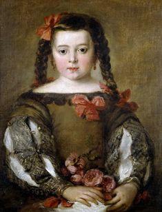 Retrato de niña, José Antolínez (1635 - 1675).
