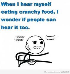 Forever awkward.