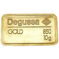 Degussa Goldbarren - Ok Tedi Mine - Vorderseite