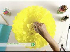 Utilisima | Vídeos | Pompones de papel
