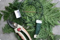 evergreen wreaths