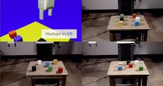 (Tech Xplore)—A new algorithm developed by a team at OpenAI (backed by Elon Musk) allows for teaching a robot how to do something by first having a human being demonstrate it in a virtual reality setting. As the researchers note, the scheme is based on something the company calls one-time imitation learning.