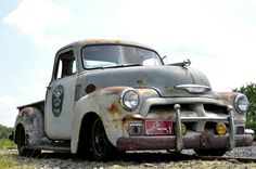 1954 chevy pickup rat rod