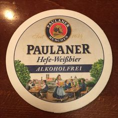 Paulaner Hefe-Weizen alkoholfrei - Olivenbaum Pankow Beer Coasters, Rat Rods, Canning, Root Beer, Wafer Cookies, Frases, Olive Tree, Alcohol Free, Home Canning