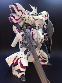 GUNDAM GUY: MG 1/100 Sazabi Ver. Ka [Unicorn Colors] - Painted Build