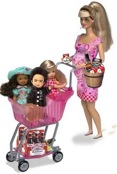 Wal~mart barbie haha...I find this so funny cause its true!