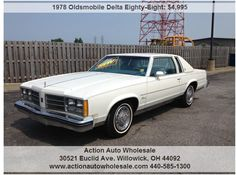 78 Delta Eight original miles-Very Clean-No Rust Here Free Cars, Rust Free, Bmw, The Originals, Classic, Vehicles, Antiques, Derby, Antiquities