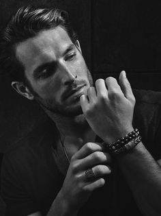 Justice Joslin at Ford Models in NYC, Nathalie Modelsin Paris and D'management Group in Milan, photographed by Craig McDean for the David Yurman Fall 2013 Men's lookbook