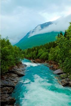 Turquoise River, Alberta, Canada